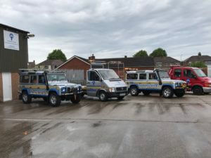 ART Recovery Vehicle line up