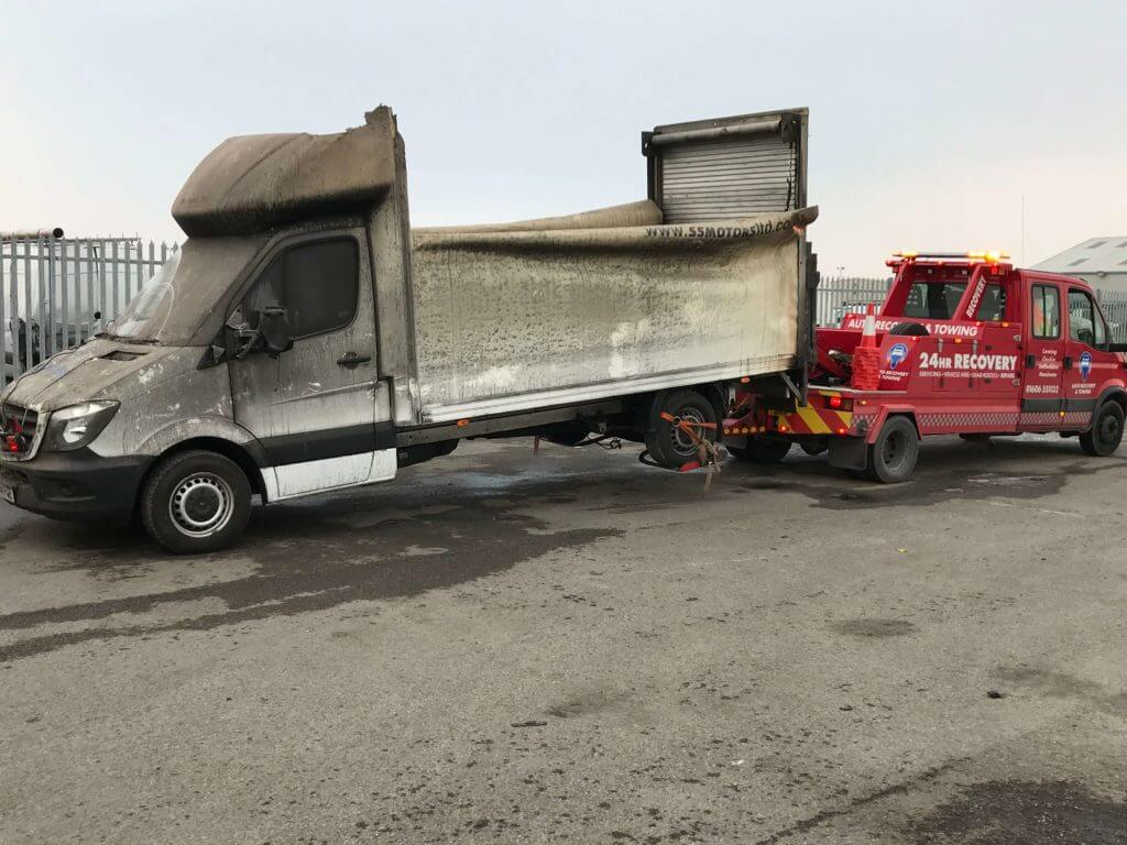 Recovery of Large Van
